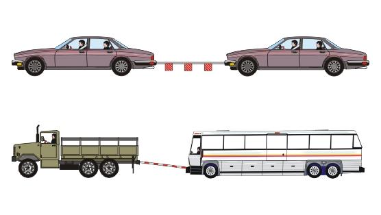 Как сделать жесткий буксир для грузового автомобиля